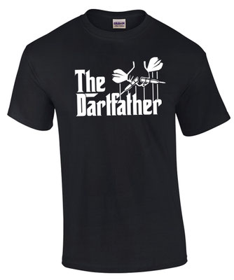 Dart Shirt Darten T-Shirt Spruch Sprüche Funshirt Dartfather
