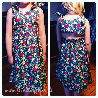 Kinderkleid aus der b inspired. einfach zuckersüß, Stoff Hollandmarkt