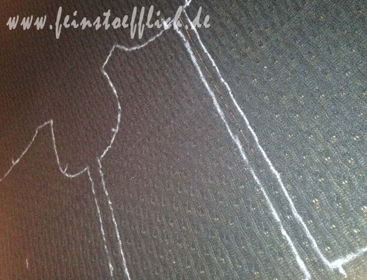 Markierungen mit Pastellkreide