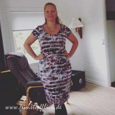Kleid 4 aus Knipmode 7/2014, Stoff vom Maybachufer