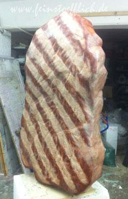 Steak noch ohne Pfefferkörner Grpßplastik