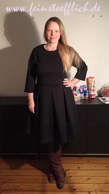 Baukastenkleid 9 aus Fashionstyle 10/2017 mit langem Arm