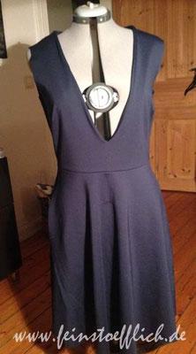 Kleid aus Meine Nähmode 1/2016, Romanit Stoffcentrum