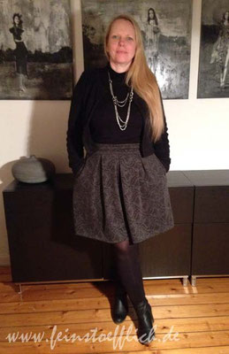 Rock Rachel La Maison Victor und modifiziertes Jäckchen Naomi