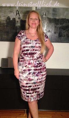 Knipmode/Fashionstyle 7/2014 Kleid 4