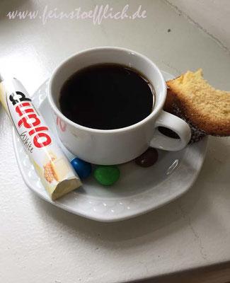 Kaffee und kleine Stärkung