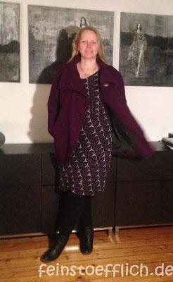 Kleid 13 Fashionstyle 08/2015 und Yuzu Coat