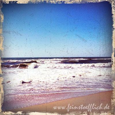 Wellen hatten wir oft
