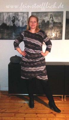 Kleid 13 aus der Stitched by you Herbst 2014
