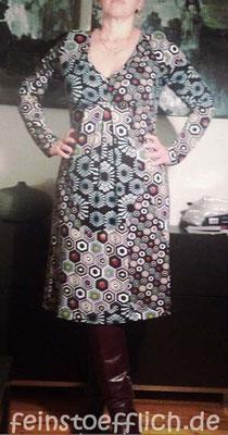 Jerseykleid aus Meine Nähmode oder ähnlichem