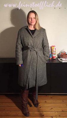 Mantel 123 aus Burda 1/2016 ohne ChiChi
