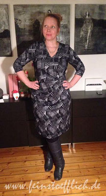Kleid 3 aus Stitched by you Herbst 2014, Jersey vom Maybachufer