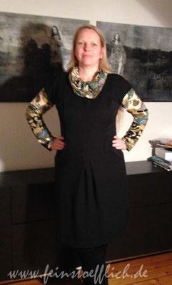 Kleid 13 aus meine Nähmode 4/2013 und Renfrew Top