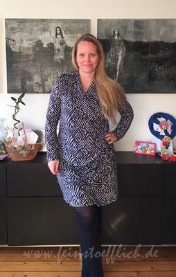 Knipmode Kleid 13 aus 11/2013