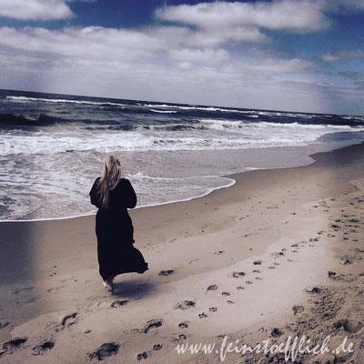 das könnte ich stundenlang.. spazieren am Strand