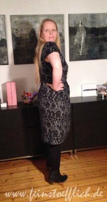 Seitenansicht Kleid 29 Knipmode 06/2015