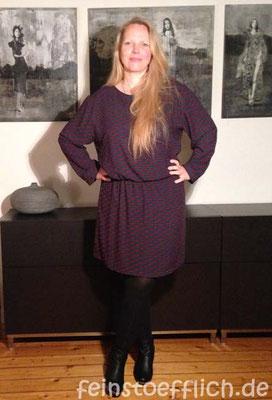 Kleid Maryanne, gekürzte Länge