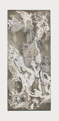 Shadow (Im Schatten gehen), 76 X 36 cm, 2007