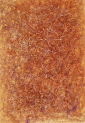 Orange, ink on cardboard, 73 x 51 cm, 2007
