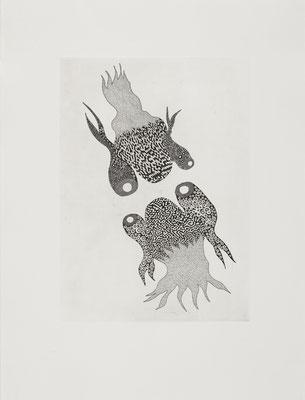 Egos, 80 x 60 cm, 2008