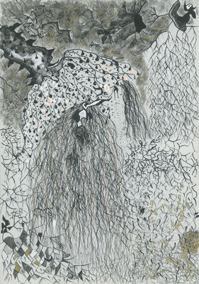 Autumn poetry, ink on paper, 41,6 x 29,8 cm, 2007