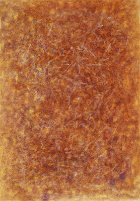 Orange, ink on cardboard, 73 x 51 cm, 2007