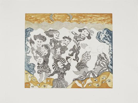 Dzogchen, 60 x 80 cm, 2008