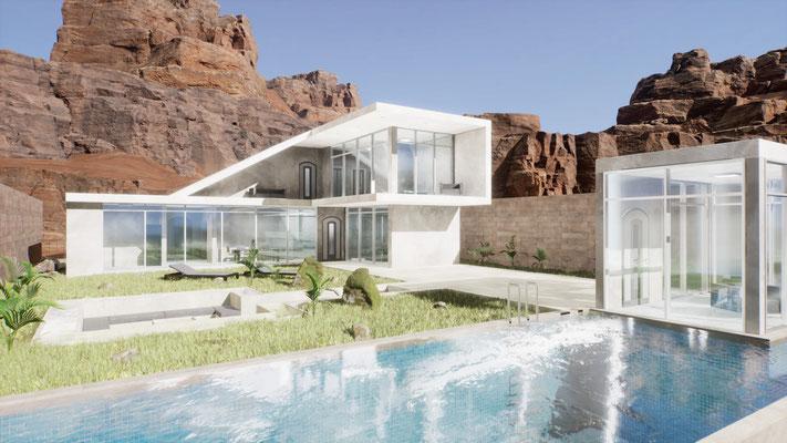 Cliffside Villa [Unreal Engine]