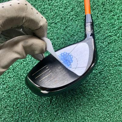 Die Impact Tapes von Mein Golf Training lassen sich leicht wieder abziehen ohne zu zerreißen.