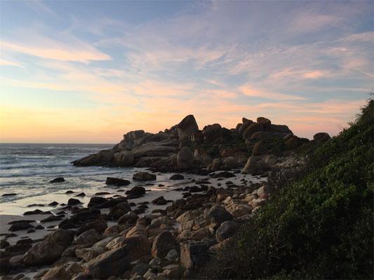 Sonnenuntergang in Kapstadt