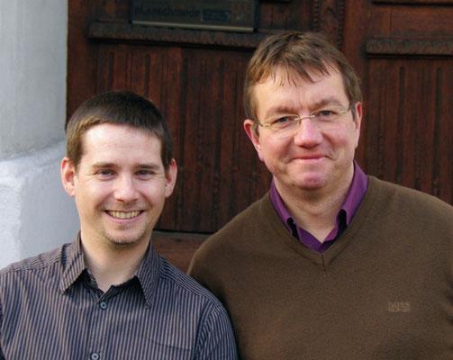 Markus Munzinger und Johannes Pardall, die Organisatoren der Konzertreihe