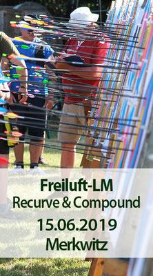 Freiluft-Landesmeisterschaft (BSSA) Recurve und Compound, 15.06.2019 in Merkwitz