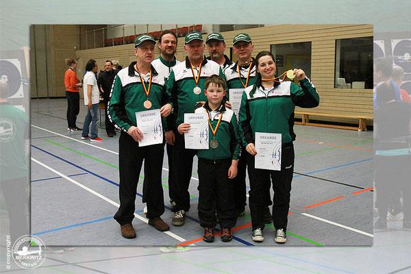BSV Merkwitz 1997 e.V. bei der 2. Regio-Meisterschaft Ost des DFBV Halle - 20.02.2016, Elbe-Rossel-Halle in Dessau-Roßlau