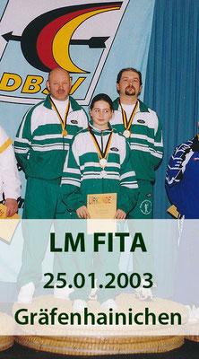 BSV Merkwitz 1997 e.V. als Ausrichter für die LM FITA am 25.01.2003 in Gräfenhainichen