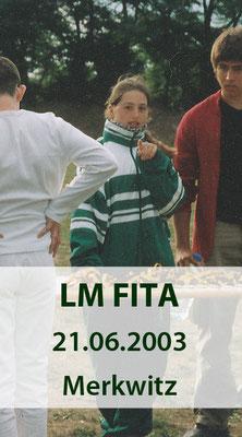 BSV Merkwitz 1997 e.V. als Ausrichter für die LM FITA am 21.06.2003 in Merkwitz
