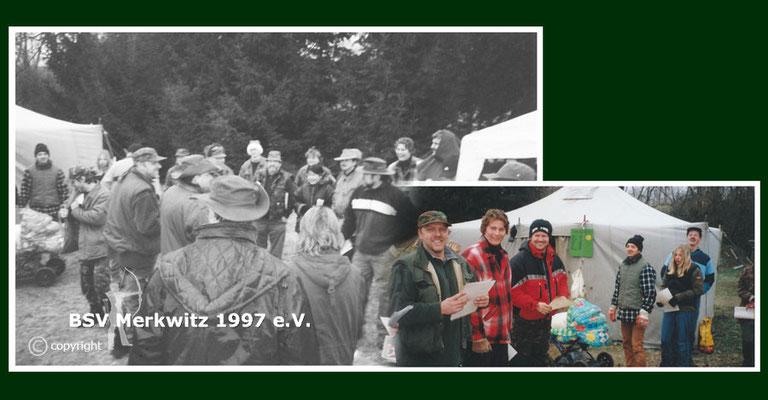 Nikolausschiessen am 07.12.2002 am Krähenberg