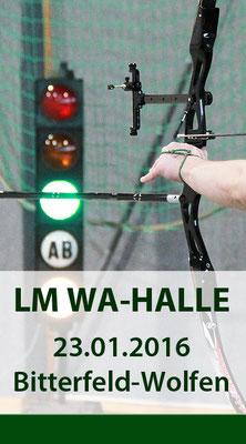 LM FITA Halle am 23.01.2016 in Bitterfeld-Wolfen