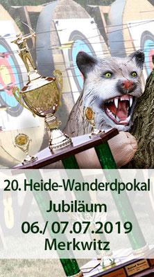 20. Heide-Wanderpokal am 06./ 07.07.2019 in Merkwitz/ Bogenschiessen Fita und 3D, Zweitagesturnier