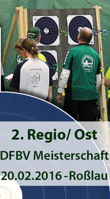 2. Regio-Meisterschaft Ost Halle am 20.02.2016 in Dessau-Roßlau