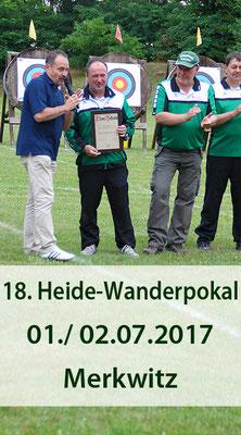18. Heide-Wanderpokal - Jubiläumsturnier- am 01./ 02.07.2017 in Merkwitz