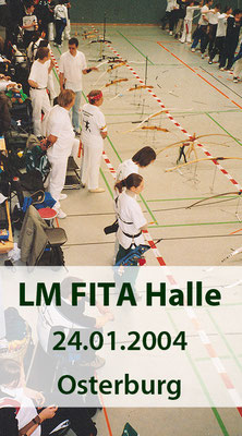 LM FITA Halle am 24.01.2004 in Osterburg