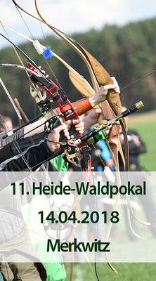 11. Heide-Waldpokal, 3D,  14.04.2018 in Merkwitz