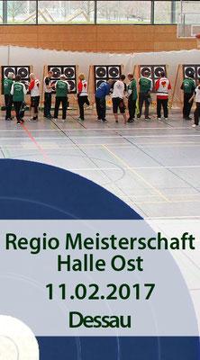 Blaue Scheibe/ Regionalmeisterschaft Halle Ost, 11.02.2017 in Dessau