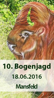 10. Mansfelder Bogenjagd am 18.06.2016
