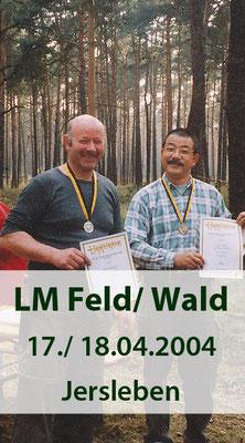 LM Feld/ Wald am 17./ 18.04.2004 in Jersleben