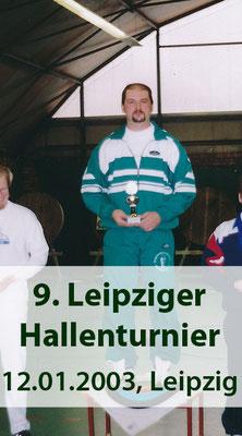 BSV Merkwitz 1997 e.V. beim 9. Leipziger Hallenturnier am 12.01.2003