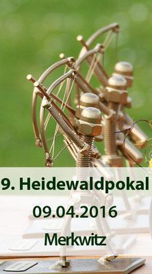 9. Heide-Wald-Pokal am 09.04.2016 in Merkwitz/ Kiesgrube bei Wittenberg