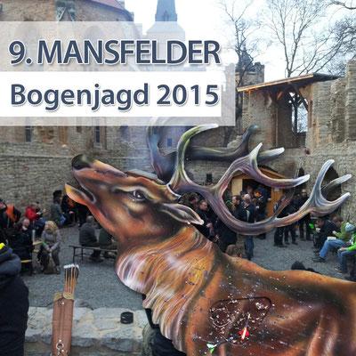 BSV Merkwitz 1997 bei der 9. Mansfelder Bogenjagd am 28.12.2015