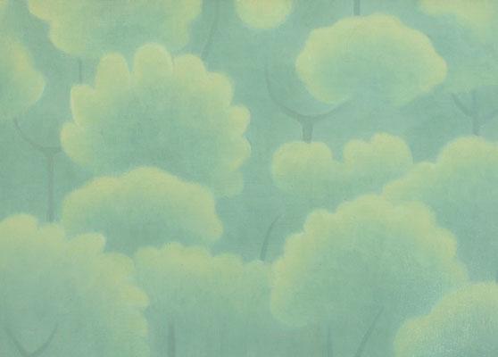 《 森と日 》 25×36cm 2015 ¥18,000