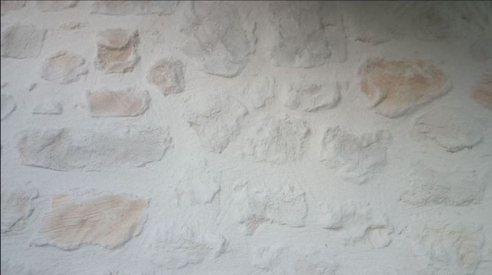 Imitation pierre apparente naturelle gris marron